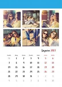 Kalendář, Tvoje fotografie z Instagramu, 20x30 cm