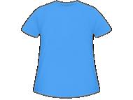 Tričko dětská, Prázdná šablona