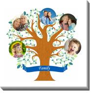 Obraz, Rodinný strom, 50x50 cm