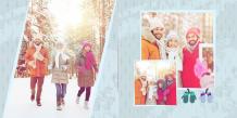 Fotokniha Spomienky z celého roku, 30x30 cm