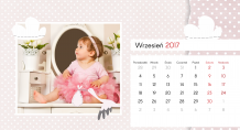 Kalendarz, Najpiękniejsze chwile księżniczki, 22x10 cm