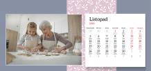 Kalendarz, Najlepsza Babcia na świecie, 22x10 cm