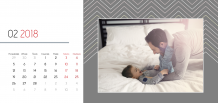 Kalendarz, Twój kalendarz na każdą okazję, 22x10 cm