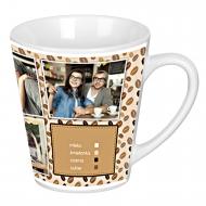 Kubek latte, Kawa
