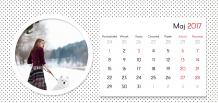 Kalendarz, Zbiór wspomnień, 22x10 cm