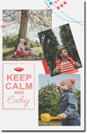 Obraz, Keep Calm and..., 20x30 cm
