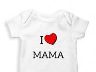 Body dziecięce I love Mama
