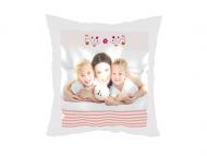 Poduszka, satyna, Wszystkiego najlepszego Mamo, 38x38 cm