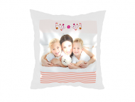 Poduszka, satyna, Wszystkiego najlepszego Mamo, 25x25 cm