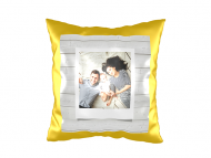 Poduszka, zamsz, Najświeższe wspomnienia, 40x40 cm
