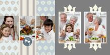 Fotokniha Rodinné stretnutia, 20x20 cm