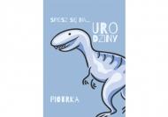 Zaproszenia Dinozaur, 10x20 cm