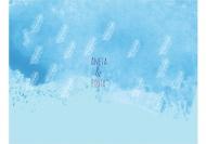 Zaproszenia Błękitne, 20x15 cm