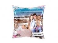 Poduszka, bawełna, Kochana rodzinka, 25x25 cm