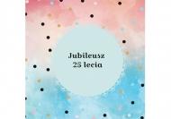 Zaproszenia Jubileuszowe , 14x14 cm