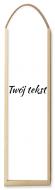 Skrzynka na wino, Twój tekst, 35x10