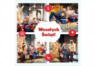 Fotokartki Rodzinne życzenia świąteczne, 14x14 cm