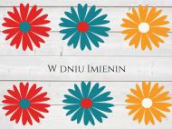 Fotokartki Imieniny, 20x15 cm