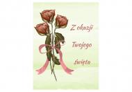 Fotokartki Róże, 10x20 cm