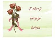 Fotokartki Róże, 15x10 cm