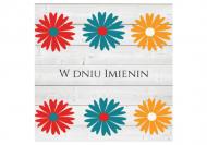 Fotokartki Imieniny, 14x14 cm