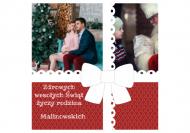 Fotokartki Zdrowych, wesołych Świąt, 14x14 cm