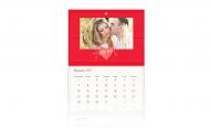 Kalendarz trójdzielny, I Love You, 30x70