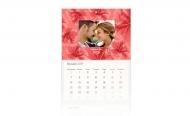 Kalendarz trójdzielny, Kocham Cię, 30x70