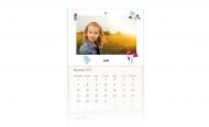 Kalendarz trójdzielny, Minimalistyczny, 30x70