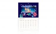 Kalendarz trójdzielny, Morska opowieść, 30x70