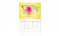 Kalendarz trójdzielny, Sunny , 30x70