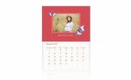 Kalendarz trójdzielny, Z córeczką, 30x70