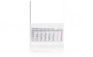 Kalendarz trójdzielny, Pusty szablon, 30x85