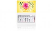 Kalendarz trójdzielny, Sunny , 30x85