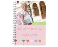 Notes Mój pierwszy zeszyt, 15x21 cm