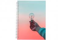 Notes planer Twój projekt planer, 15x21 cm