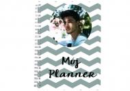 Notes planer Mój Planer, 15x21 cm