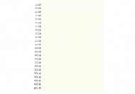 Notes planer Pusty szablon planer, 15x21 cm