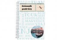Notes klasyczny kropki Dziennik podróży, 15x21 cm