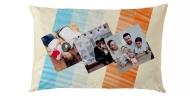 Poduszka, bawełna, Rodzina w komplecie, 40x60 cm