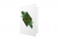 Zaproszenia Jungle, 10x20 cm