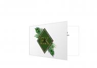 Zaproszenia Jungle, 20x15 cm