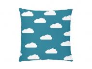 Poduszka, bawełna, Z głową w chmurach, 25x25 cm