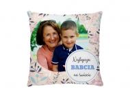 Poduszka, bawełna, Najlepsza Babcia na świecie, 25x25 cm
