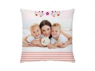 Poduszka, bawełna, Wszystkiego najlepszego Mamo, 38x38 cm