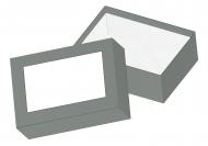 Pudełko kartonowe, Pusty szablon, 16x11 cm