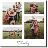 Obraz, Rodzinne wspomnienia, 30x30 cm