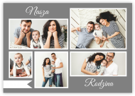 Plakat, Nasza Rodzina, 40x30 cm