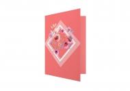 Zaproszenia Geometrycznie, 10x15 cm