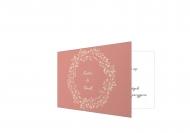 Zaproszenia Pastelowe wspomnienia, 20x10 cm